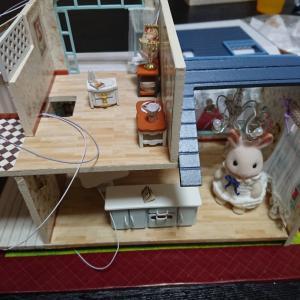ドールハウス作りはじめました④