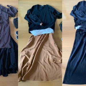 【シンプル】秋ファッション1週間コーディネート。主要アイテム一覧。