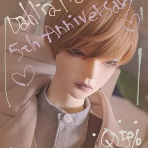 5th Anniversary*Dahlia*