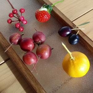 今日の収穫(木の実)