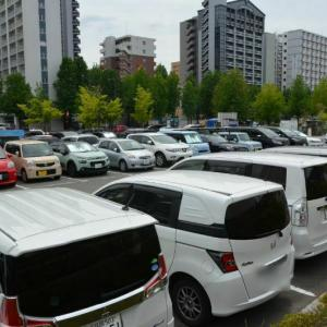 福岡サンパレス周辺の安い駐車場を徹底レポ。写真付きで詳しく解説