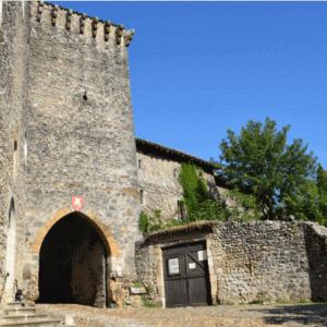 【エア旅行】リヨン近郊のペルージュ村で中世にタイムスリップ