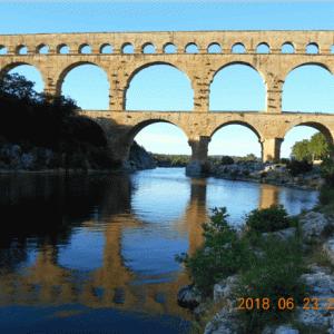【エア旅行】古代ローマ建築の傑作、ポン・デュ・ガール水道橋