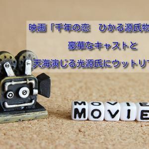 映画「千年の恋 ひかる源氏物語り」豪華なキャストと天海さん演じる光源氏にウットリです。