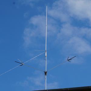 初心者3級アマチュア無線技師 無線アンテナ工事してみた。