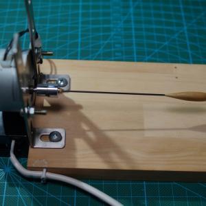 DIY へら浮き製作のトップ塗り回転機を自作してみた!!