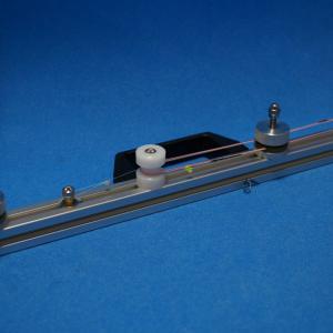 DIYでアルミ製 ラインメジャー  1巻=2m , 1m or 50cm 水中糸等の計測専用を作ってみた!