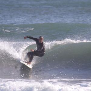 この波もありがとうございます。宮崎×サーフィン