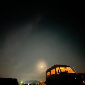 今夜の星空は どんな風に 写るのかな?! 車中泊・キャンピングカーの旅