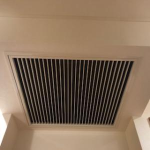全館空調の吸気・・・三井ホームの家
