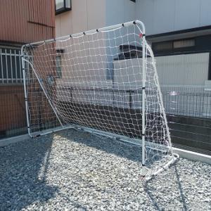サッカーとフットサルゴール 3m×2m 自宅の庭で子供とPKや試合形式で遊ぶ