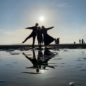 父母ヶ浜(ちちぶがはま)ウユニ塩湖のような写真が撮れるインスタ映えスポット 香川県三豊市