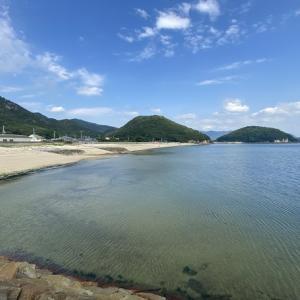 名部戸海水浴場と名部戸漁港でキス釣り 三豊市
