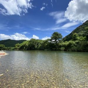 天満宮前キャンプ場 日本最後の清流四万十川で川遊び 中土佐町