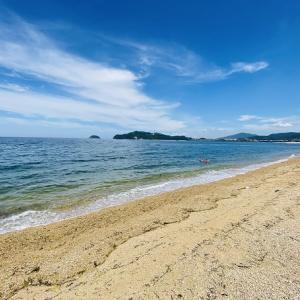 津田の松原海水浴場 香川県で一番人気の海水浴場 さぬき市