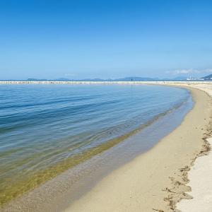 寒川豊岡海浜公園ふれあいビーチの海水浴場 四国中央市