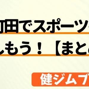 町田でスポーツを楽しもう!【まとめ】