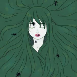 long hair & spiders .