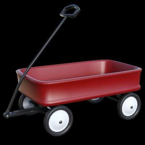 キャリーカートに子供乗せる。ベビーカーよりキャリーカートが楽。