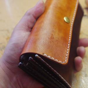 時間があるので長財布を作りはじめる!その2