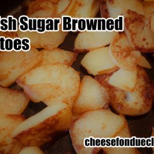北欧風シュガーブラウンポテトのレシピ【甘くて美味しいじゃがいもの副菜】