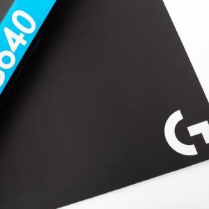 ロジクール G640 レビュー:スベスベ・サラサラ系。滑りやすさ重視の人におすすめ。