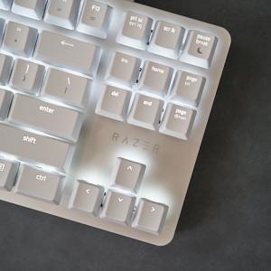 幻想的なデザインのキーボード『Razer Blackwidow Lite Mercury White』を買った【レビュー】