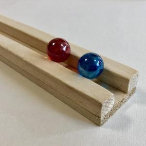 【ピタゴラ装置】ピタゴラスイッチふうのレールを作ってみたよ