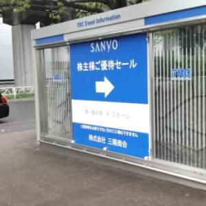 三陽商会 2021秋冬株主優待セール 戦利品を紹介します!