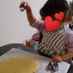 娘、初めての料理
