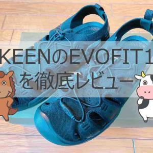 KEENのEVOFIT1(エヴォフィットワン)を元アウトドア店員が徹底レビュー!