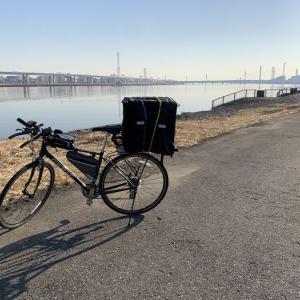 【サイクリング】UberEats配達1日目