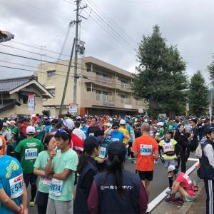 松本マラソン体験記②  〜大好きな信州の大会。でも、曇り空で山が見えなかった。
