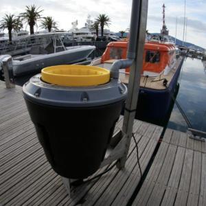 海の掃除機 SEABIN