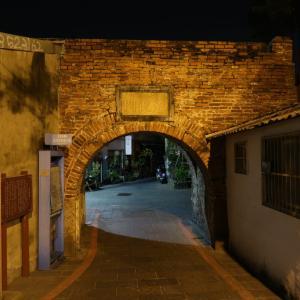 【台南】「臺灣府城兌悦門」臺灣府城西外城で唯一残る城門