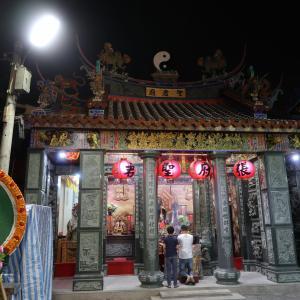 【台南】「四聯境普濟殿」旧正月のランタンフェスティバルで有名