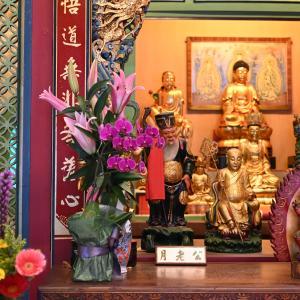 【台南】「重慶寺」月下老人のいる四大廟