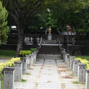 【台中】「旧台中神社」公園内に残る神社跡