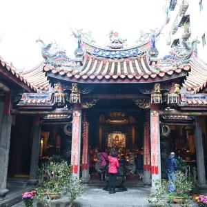 【新北】「淡水龍山寺」台湾5大龍山寺のひとつ