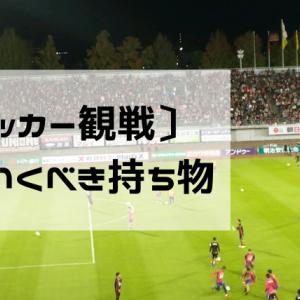 サッカー観戦に便利な持ち物6選【スポーツ観戦・冬・夏】
