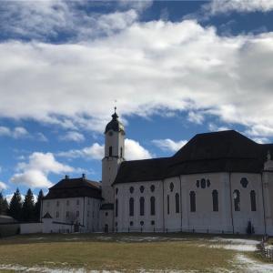 ドイツ ヴィースの巡礼教会 欧州随一と言われる美しい装飾