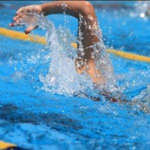 いつものプールで久しぶりに実感したこと