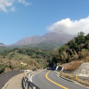 レンタサイクルで、桜島を一周してみた
