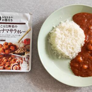 ひよこ豆と野菜のチャナマサラカレー(西友 みなさまのお墨付き)【レトルト】