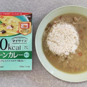 100kcal マイサイズ グリーンカレー 辛口(大塚食品)【レトルト】