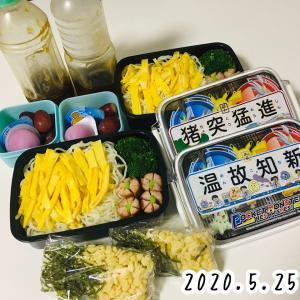 弁当はつづくよどこまでも!?ずぼらワーママの「お勉当♡」(5/25~5/29)