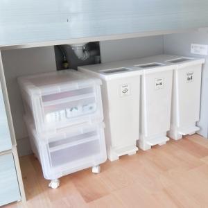 キッチンゴミ箱の置き場所問題。リフォームでシンク下に収納して解決した話