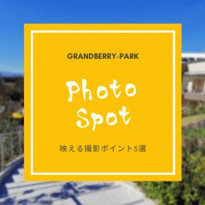 グランベリーパークのインスタ映え写真撮影スポット【富士山】【昔の…】厳選5位