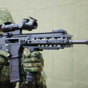 陸自の新型基幹小銃 20式5.56mm小銃が登場