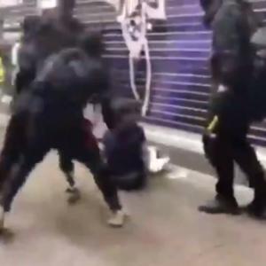 *香港デモで大量逮捕【集団暴行画像アリ